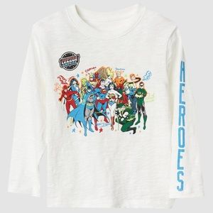 GAP DC Justice League Long Sleeve Tee